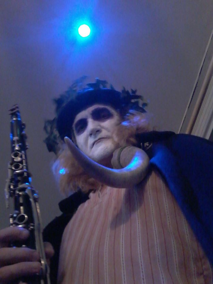 Lyndon as a Mummer