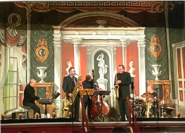 Coltrane Dedication five jazz quintet